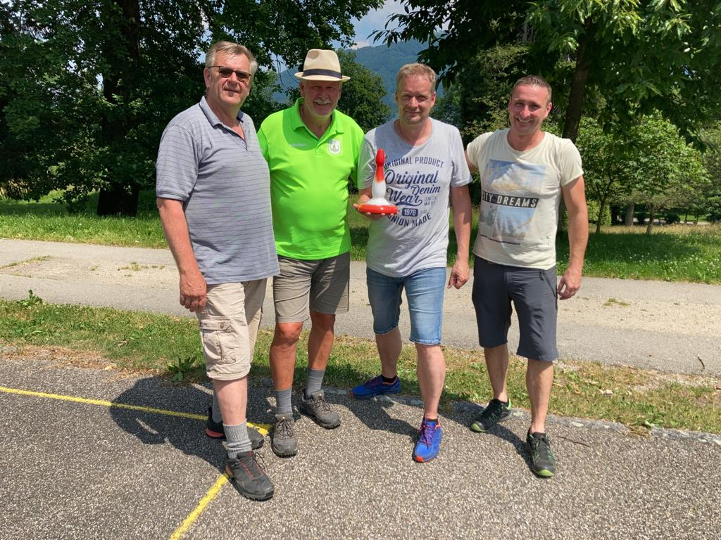 Die  Sieger - Christian Hofstätter, Hartmut Kasper (D), Lutz Rösgen (D), Michael Hirantner