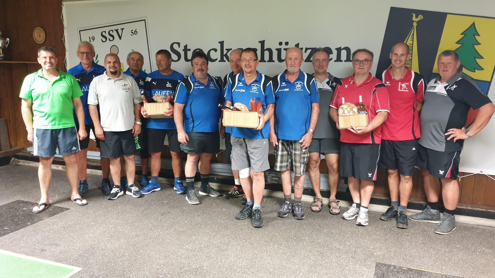 Turnier Donnerstag 27.6.19 - 2. Union Gschwandt, Sieger ASKÖ Dürnau, 3. ASKÖ Vorchdorf