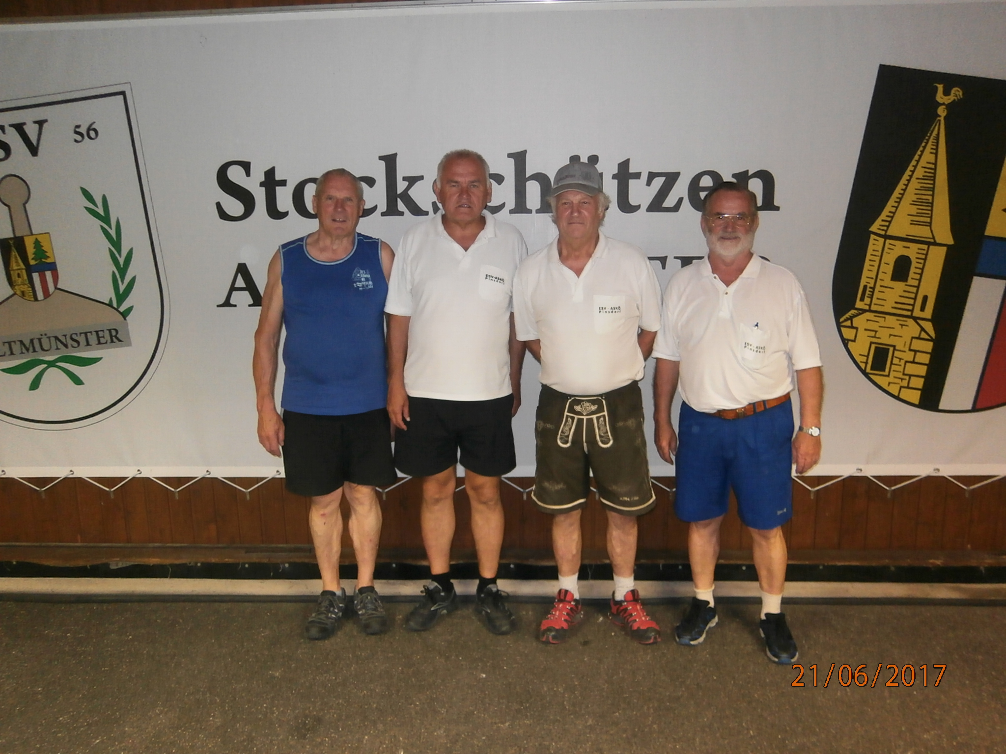 ASKÖ Pinsdorf - Sieger 21.6.2017