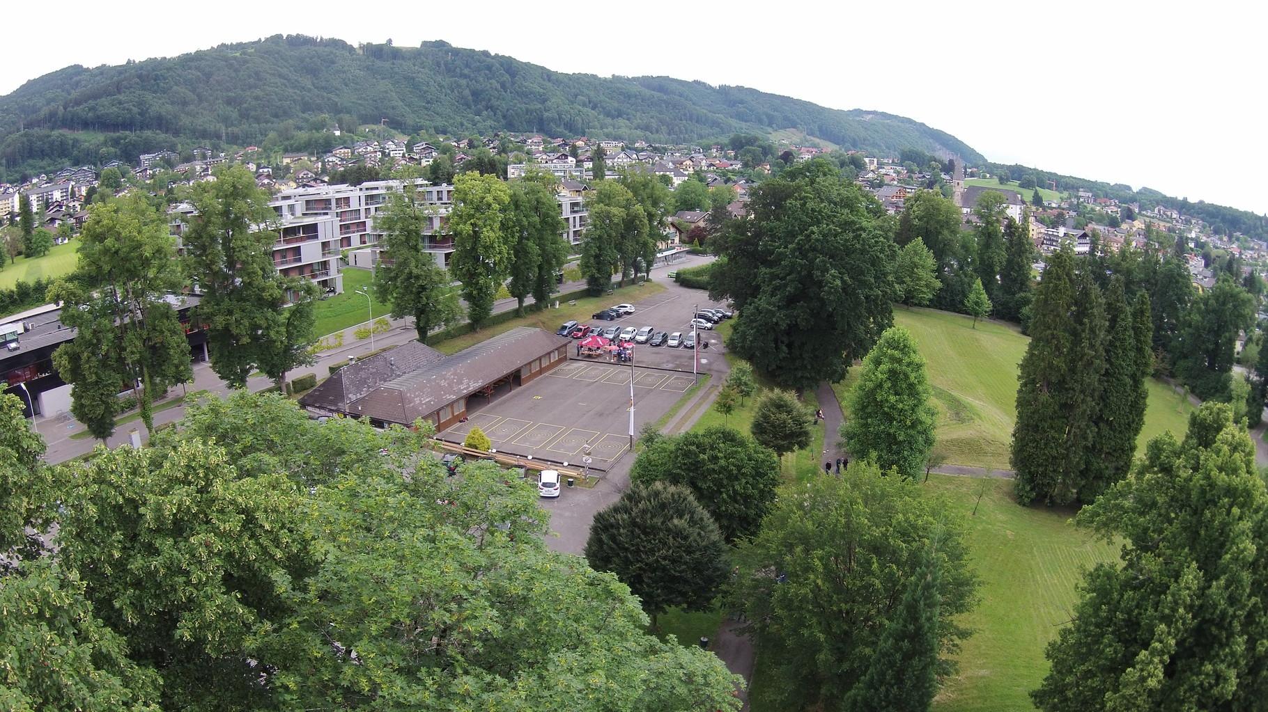 Anlage im Schloßpark Ebenzweier