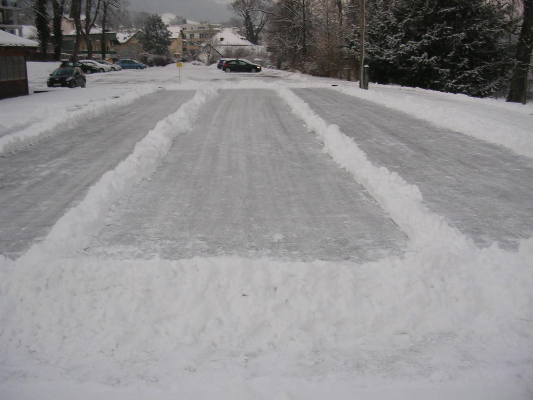 Perfekte Eisbahnen