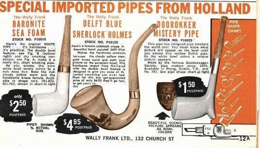 Tijdschrift advertentie 1930-1960 Wally Frank