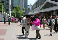 ピンクリボン 母の日キャンペーン(桜木町)