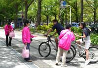 ピンクリボン 母の日キャンペーン(山下公園)