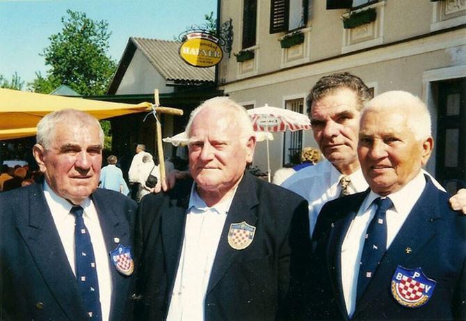 S lijeva na desno: Ilija Abramović, Omer Vrabac, Slavko Grubišić i Mirko Karačić