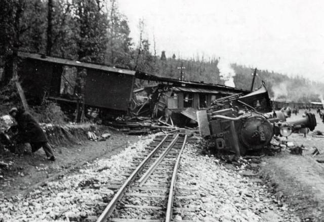 Nakon zračnog napada na Travnik 1944.