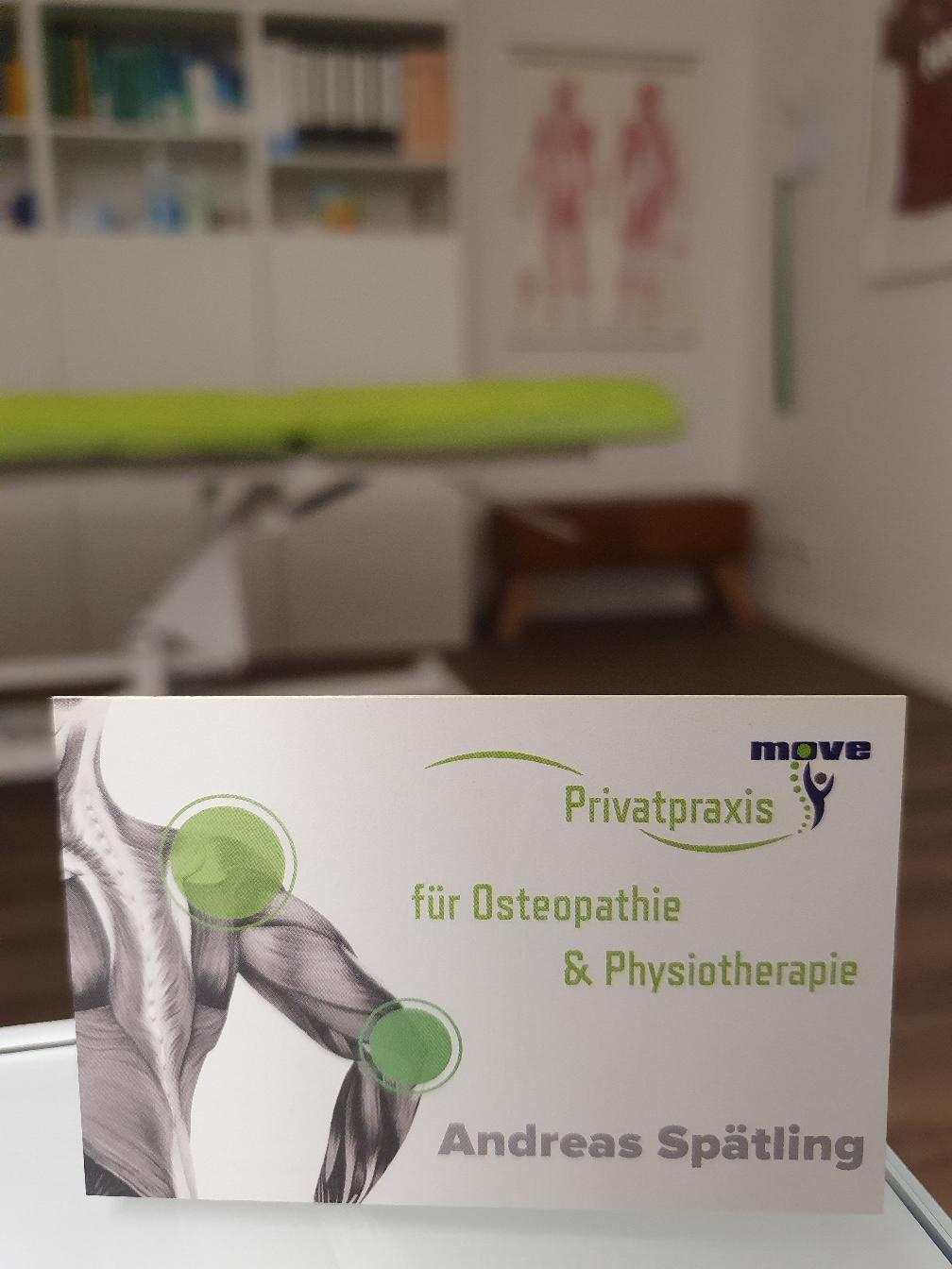Preisliste Privatpraxis Selbstzahler Privatkassen keine gesetzlichen Krankenkassen Praxis move Andreas Spätling Ebermannstadt Physiotherapeut Heilpraktiker Osteopath