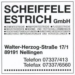 Estrich Scheiffele, Nellingen