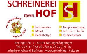 Schreiberei Hof, Nellingen