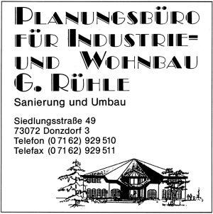 Rühe Planungsbüro, Donzdorf