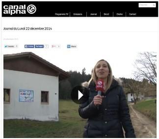 Canal alpha, 22.12.2014