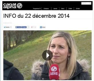 Canal alpha, 22.12.2014.2