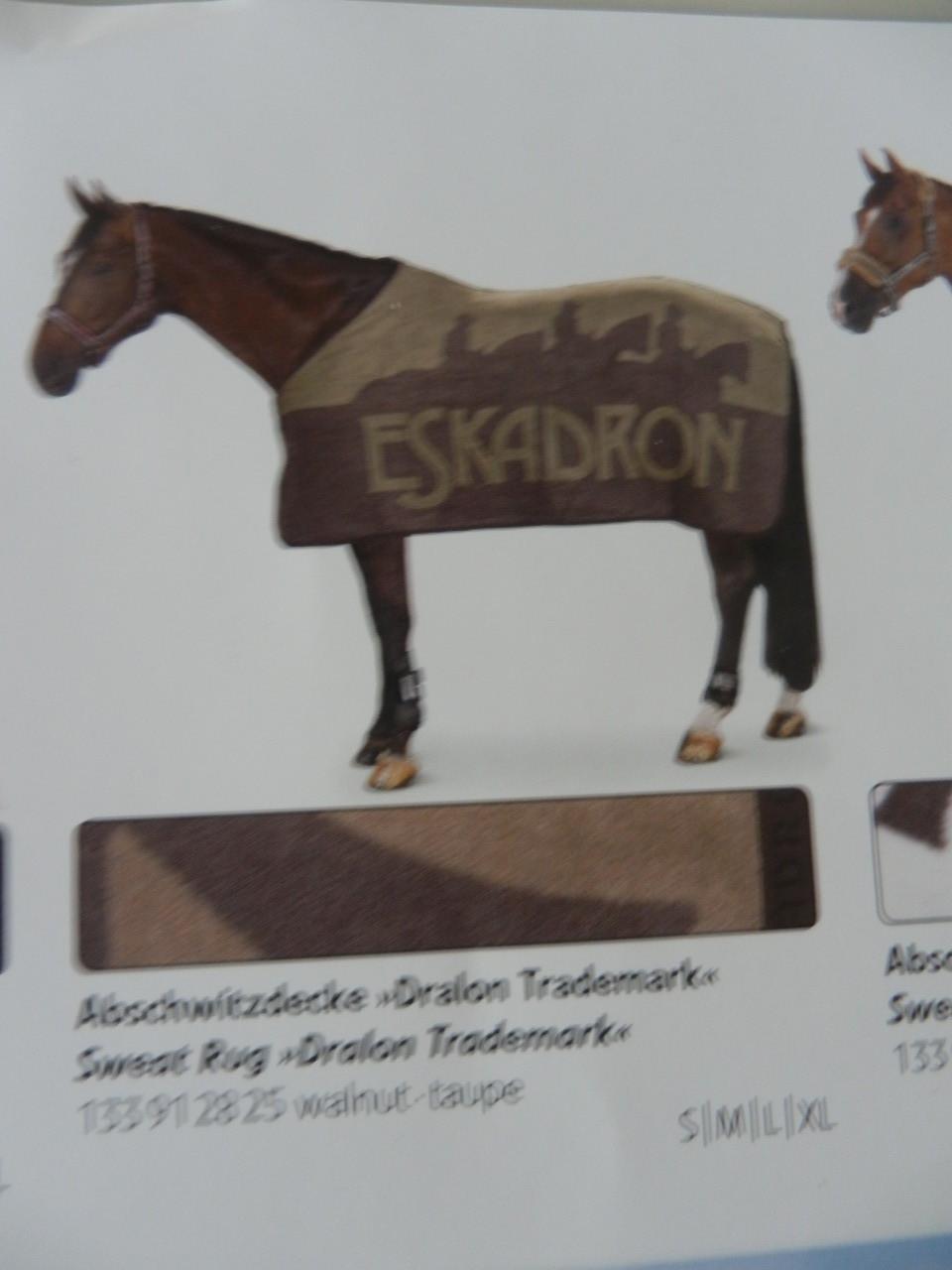 sweat rug Dralon -walnut-taupe