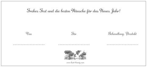 Gutschein/ Eule/ Rückseite