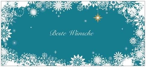 Karte/ Beste Wünsche/ Vorderseite/ 1,00 € oder mit Gutschein-Kauf kostenlos (*) (**)