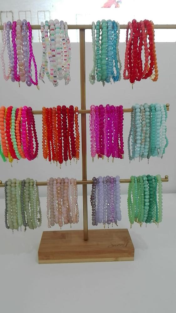 Neue Farben ....Armbänder von Lizas Euro dünne 4,50 & dickere 5,50
