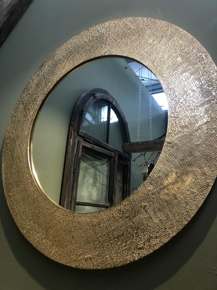 Großer Spiegel Durchmesser ca 90 cm Euro 245.-