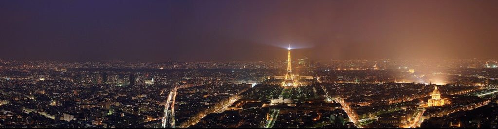 PARIS - NIGHTPANORAMA