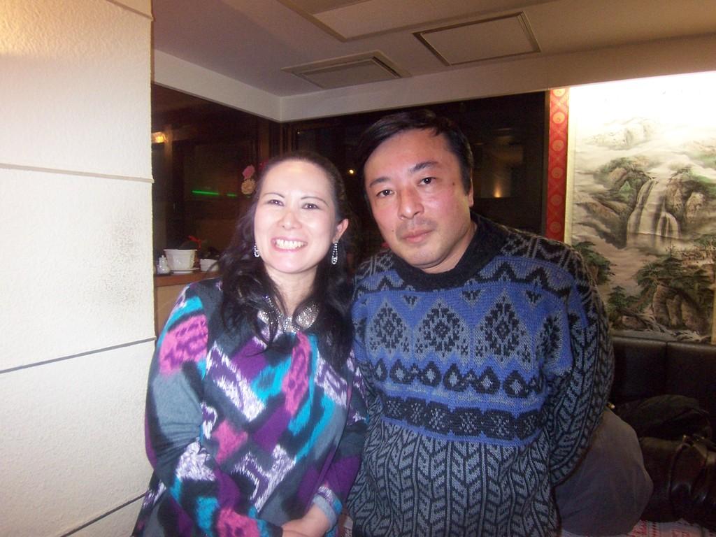 私と世界の山下和仁先生。2011.1.14 菅原潤メモリアルコンサート打ち上げにて