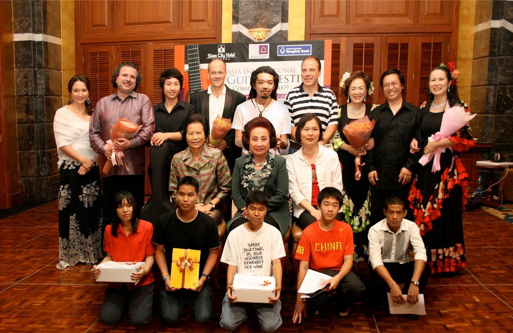 マリア・デュオ イン アジア国際ギターフェスティバル(タイ/バンコク)2009