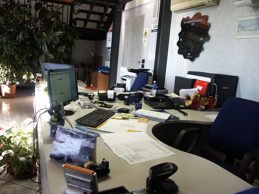 Ricezione clienti ed uffici amministrativi