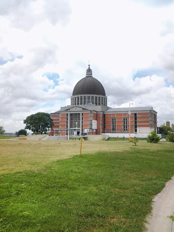 Santuario de la Virgen del Rosario de San Nicolas, en Buenos Aires.