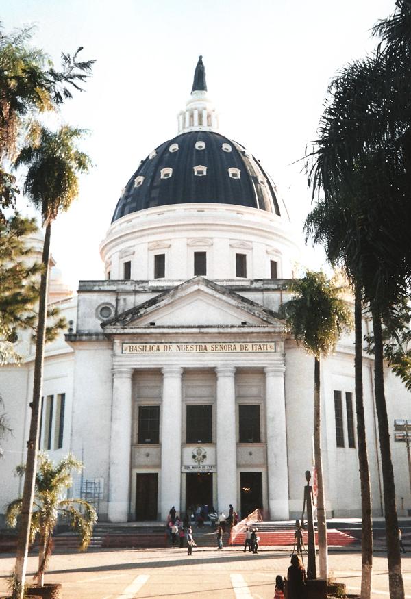 Basílica de Itatí, centro de peregrinación de los devotos.