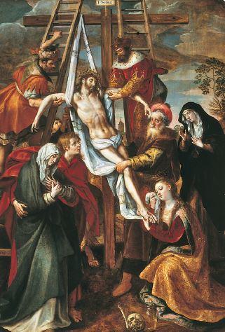 Descendimiento, de Martín de Vos.