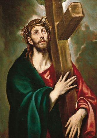 Cristo llevando la cruz, de El Greco.