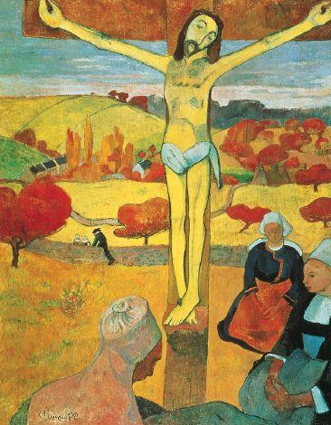 El Cristo amarillo, de Paul Gauguin.