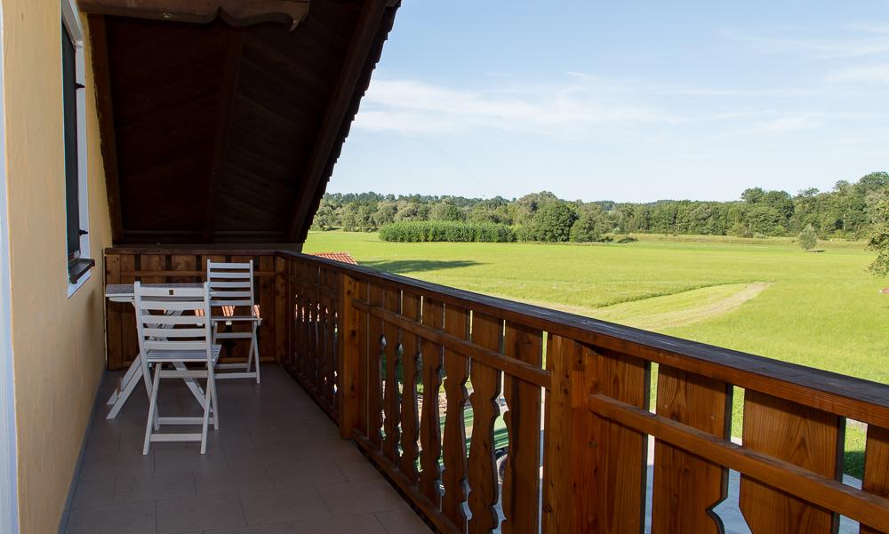 Balkon mit tollem Ausblick