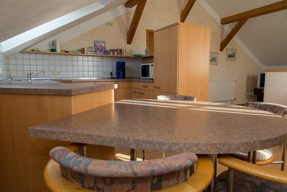 Ess- und Kochbereich der Wohnküche