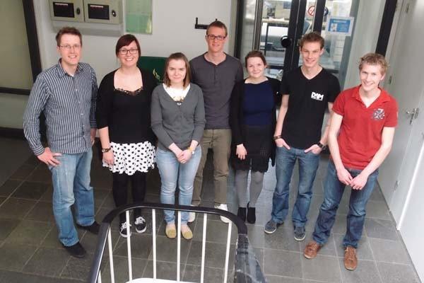 2014 FLTR: Stan, Anne, Olga, Tim, Gosia, Marnix, Lieuwe