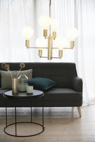Vase Gold von Hübsch Interior