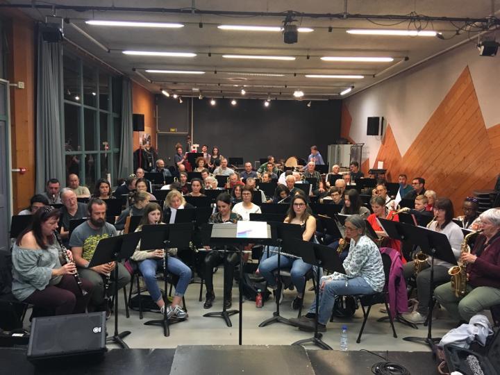 Répétition à Bourg-lès-valence pour le 13 avril 2019