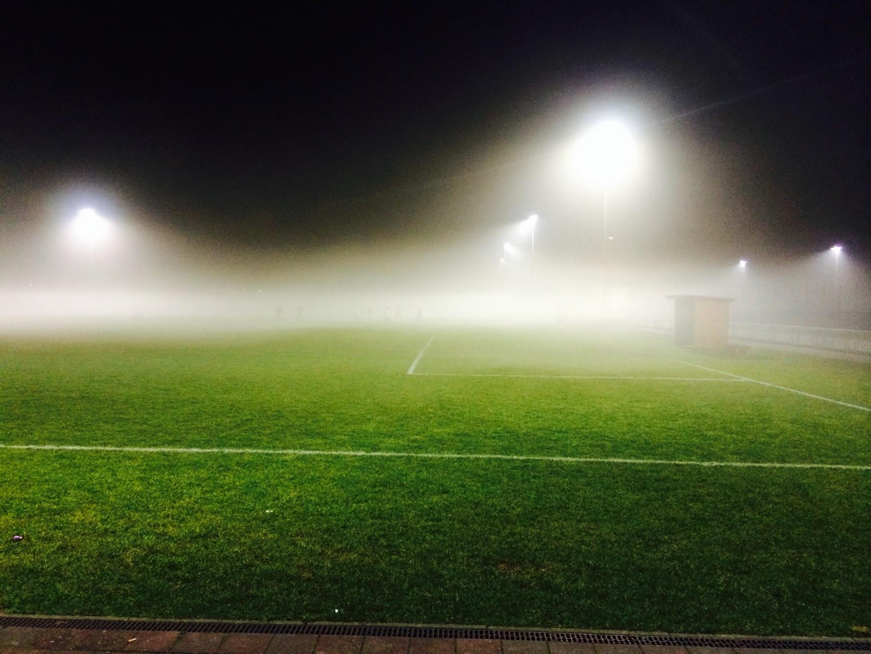 Nebel... auch dann wird trainiert