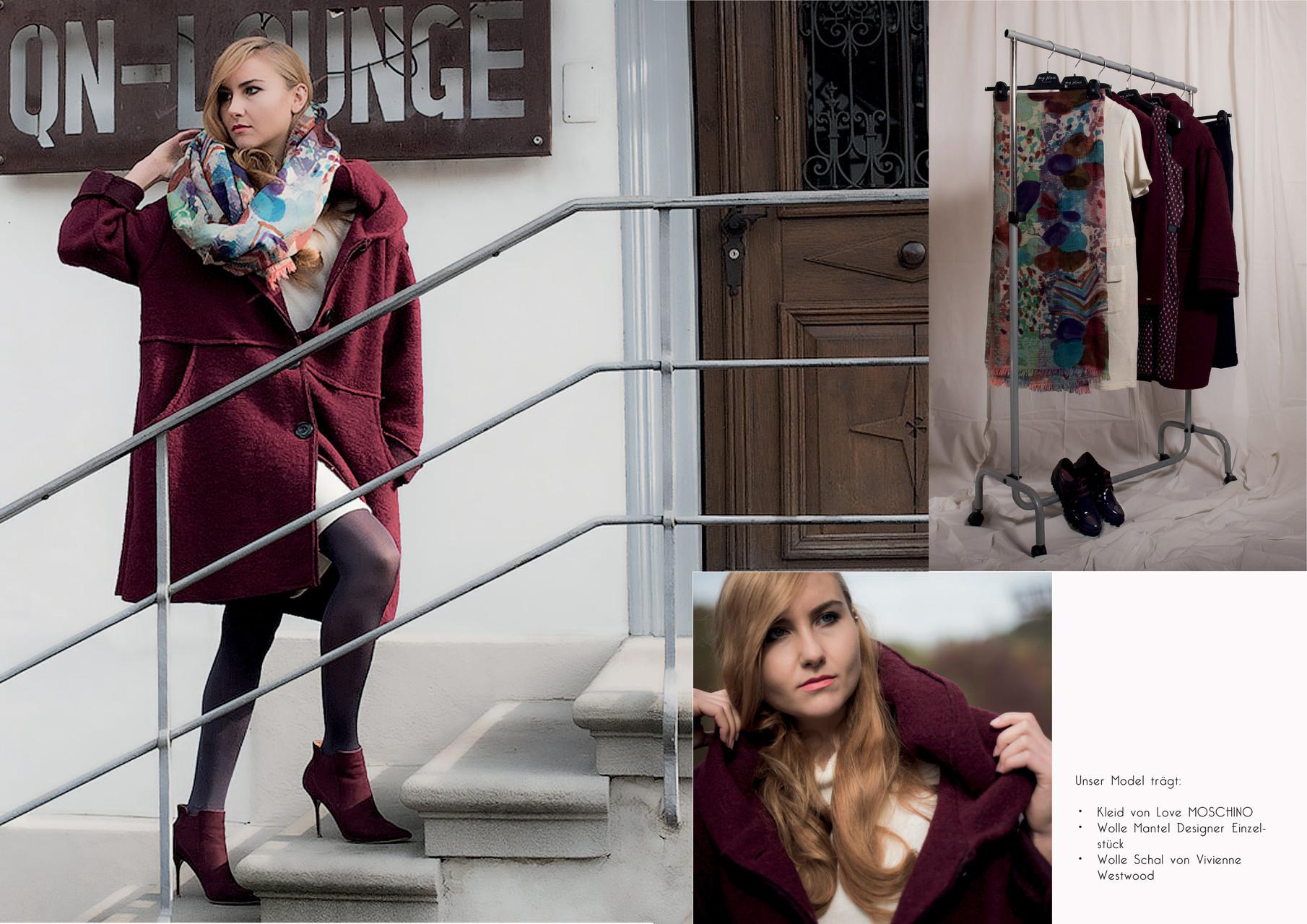 my place fashion, Wollemantel Designer Einzelstück CHF 289.-