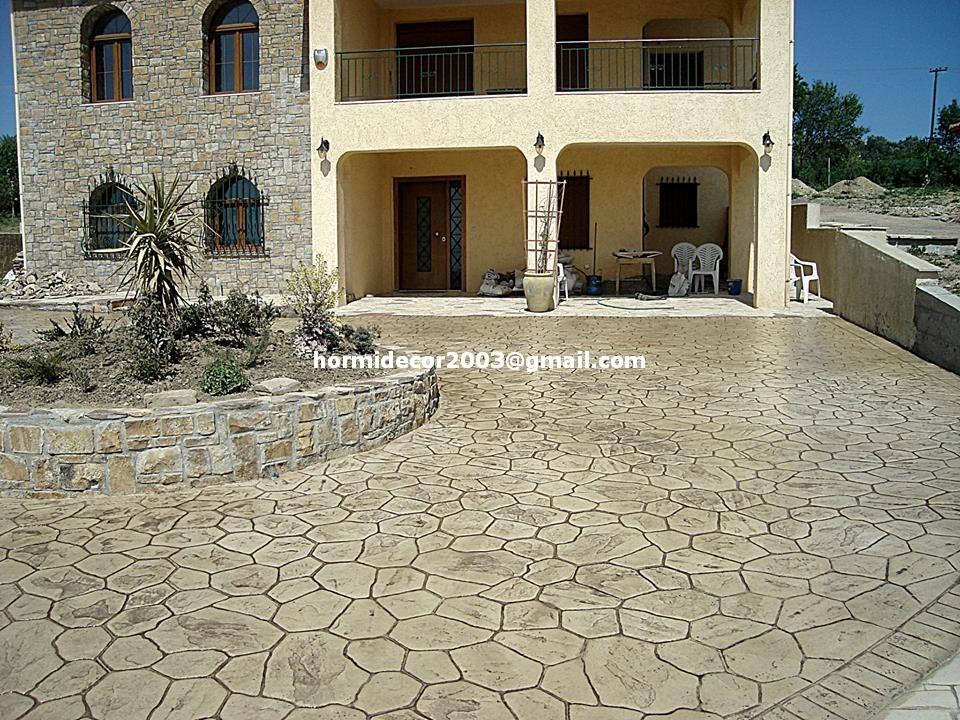 Pavimentos hormigon impreso y pulido tarragona barcelona for Pavimento de hormigon tarragona