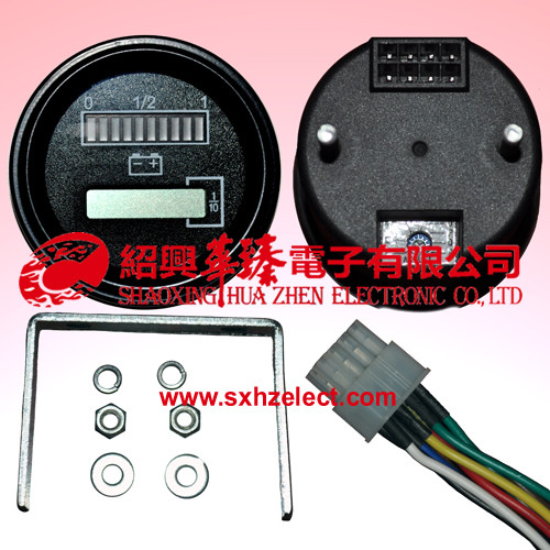 Adjustable Battery/Hour Meter-R8867A