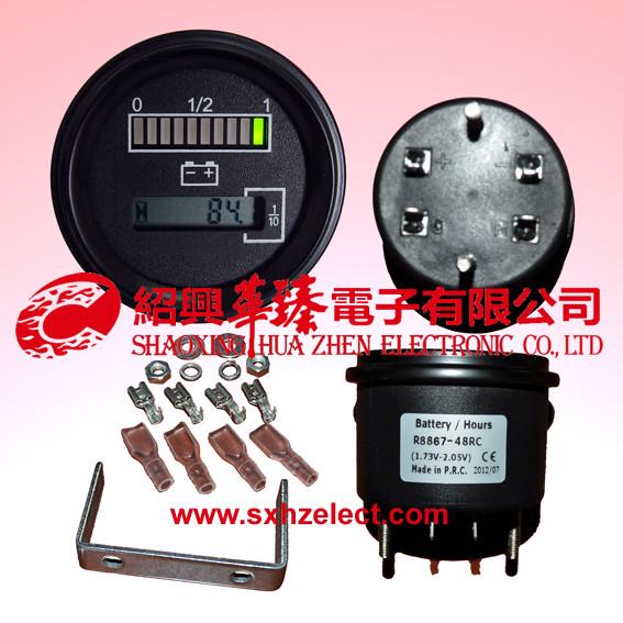 Battery/Hour Meter-R8867