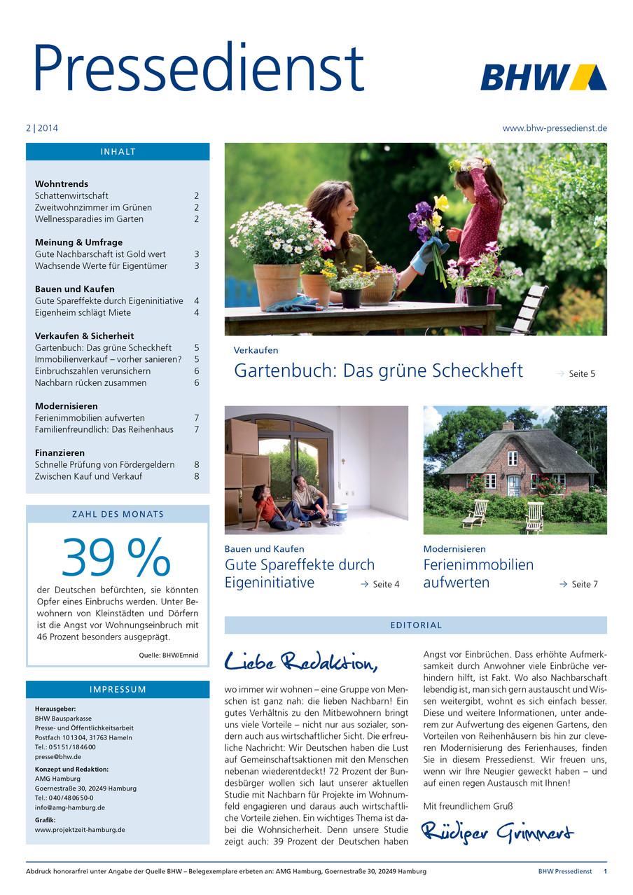Gestaltung | BHW Pressedienst