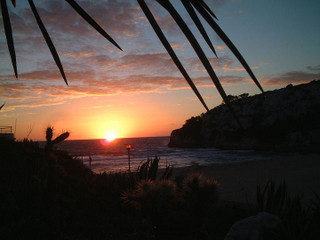 Sonnenaufgang Cala Romantica