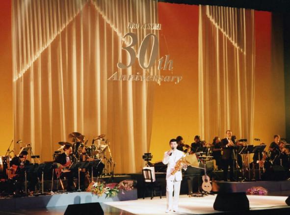 平成18年デビュー30周年記念リサイタル中野サンプラザ