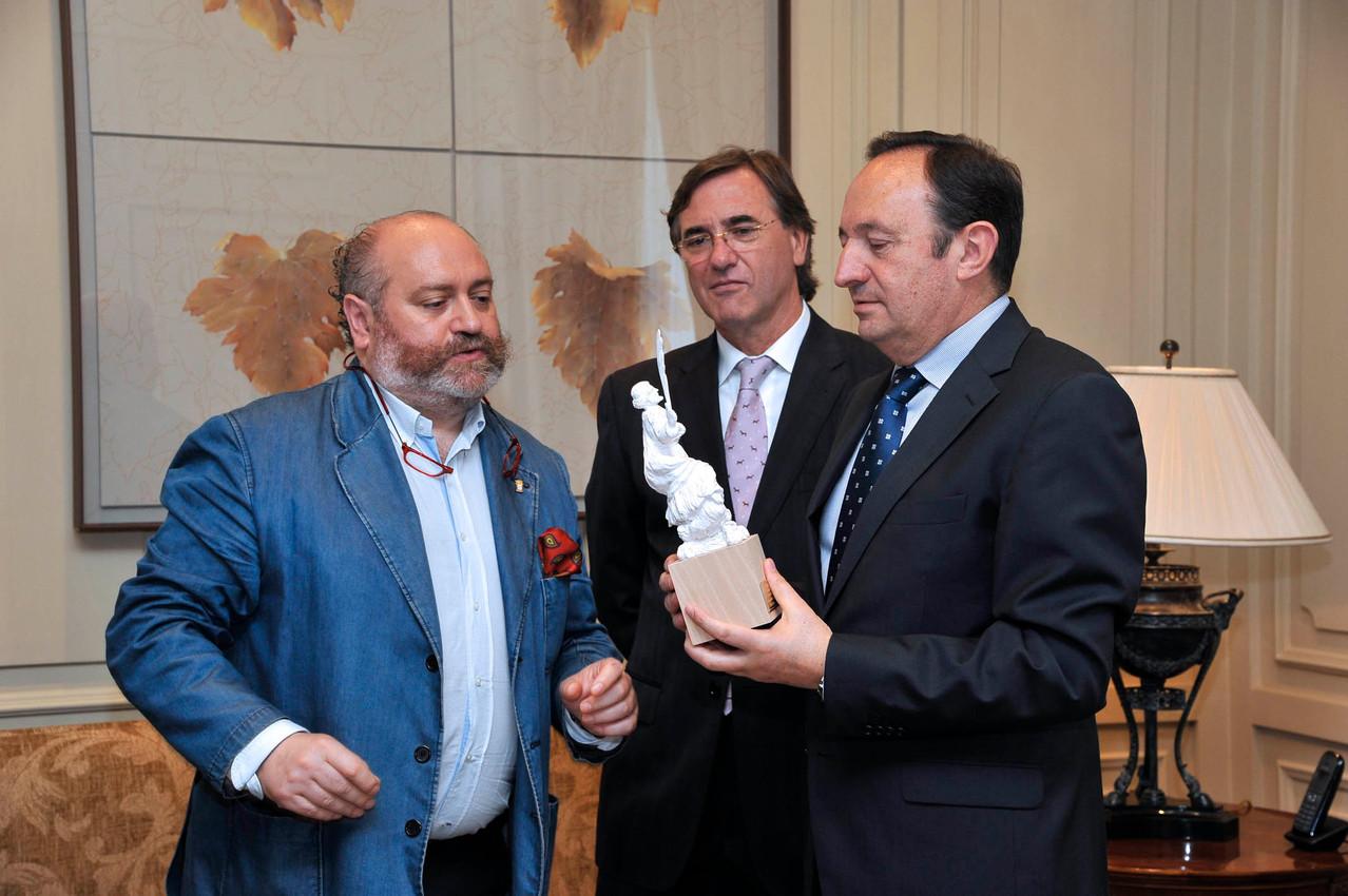 Encuentro con el Presidente de La Rioja.