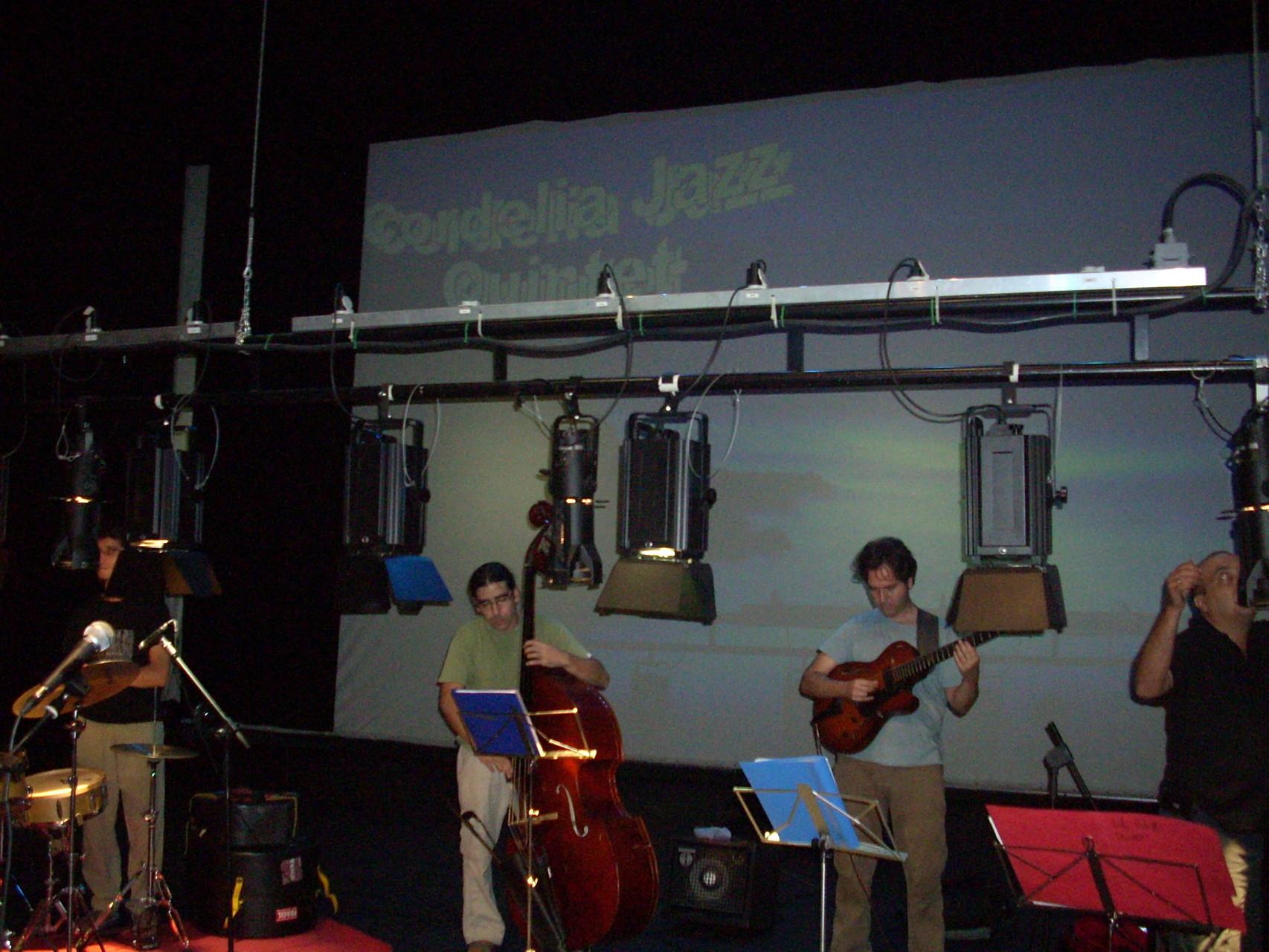 CIRCUITO ANDALUZ DE MUSICA. Prueba de sonido.HUERCAL OVERA, ALMERIA. VERANO 2010