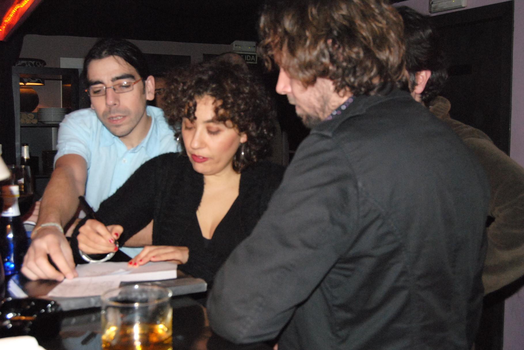 Repasando repertorio. CLUB LESWING, MADRID. MARZO 2010