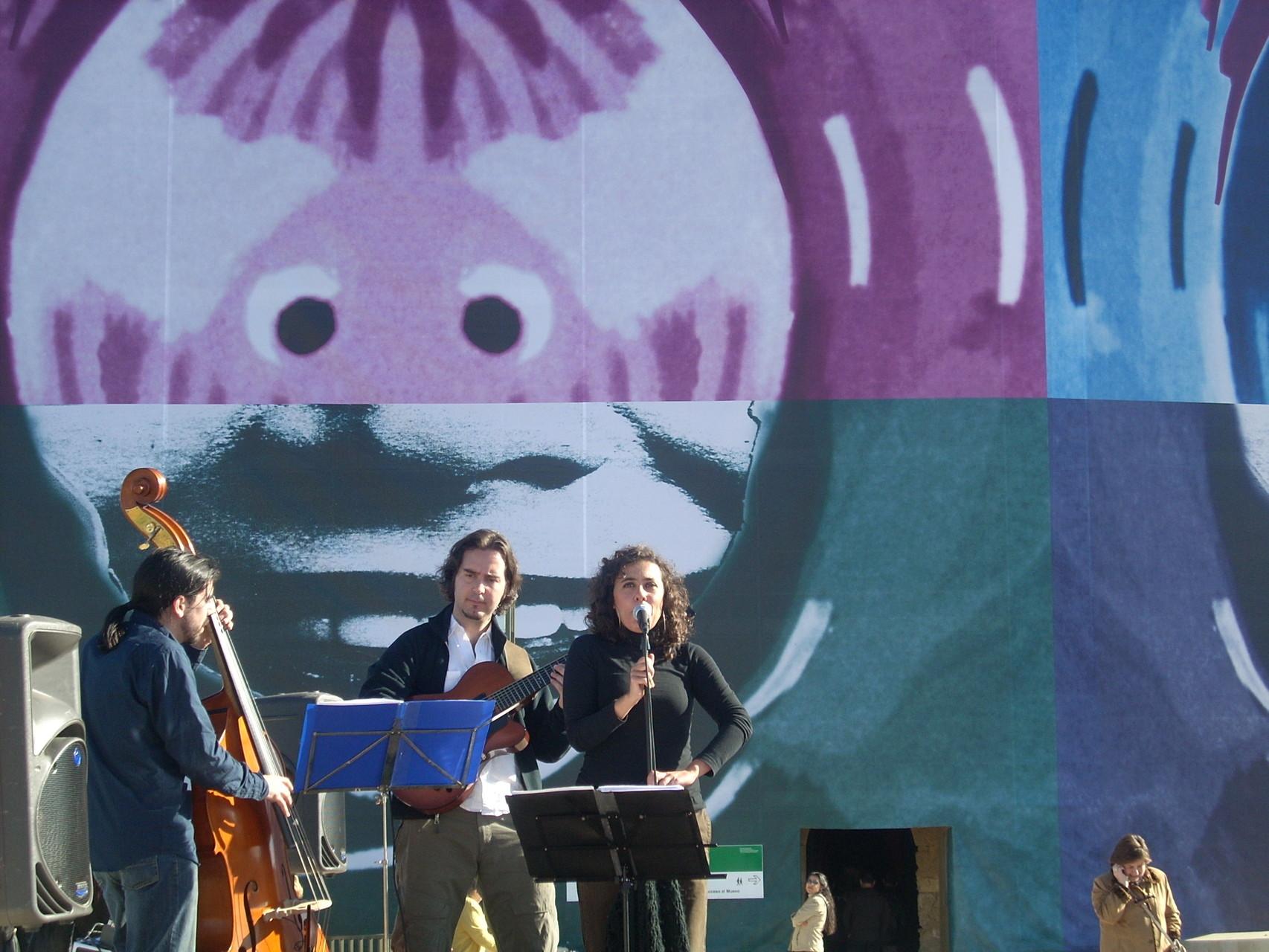 TRÍO. Inauguración PUENTE ROMANO. CORDOBA. ENERO 2008