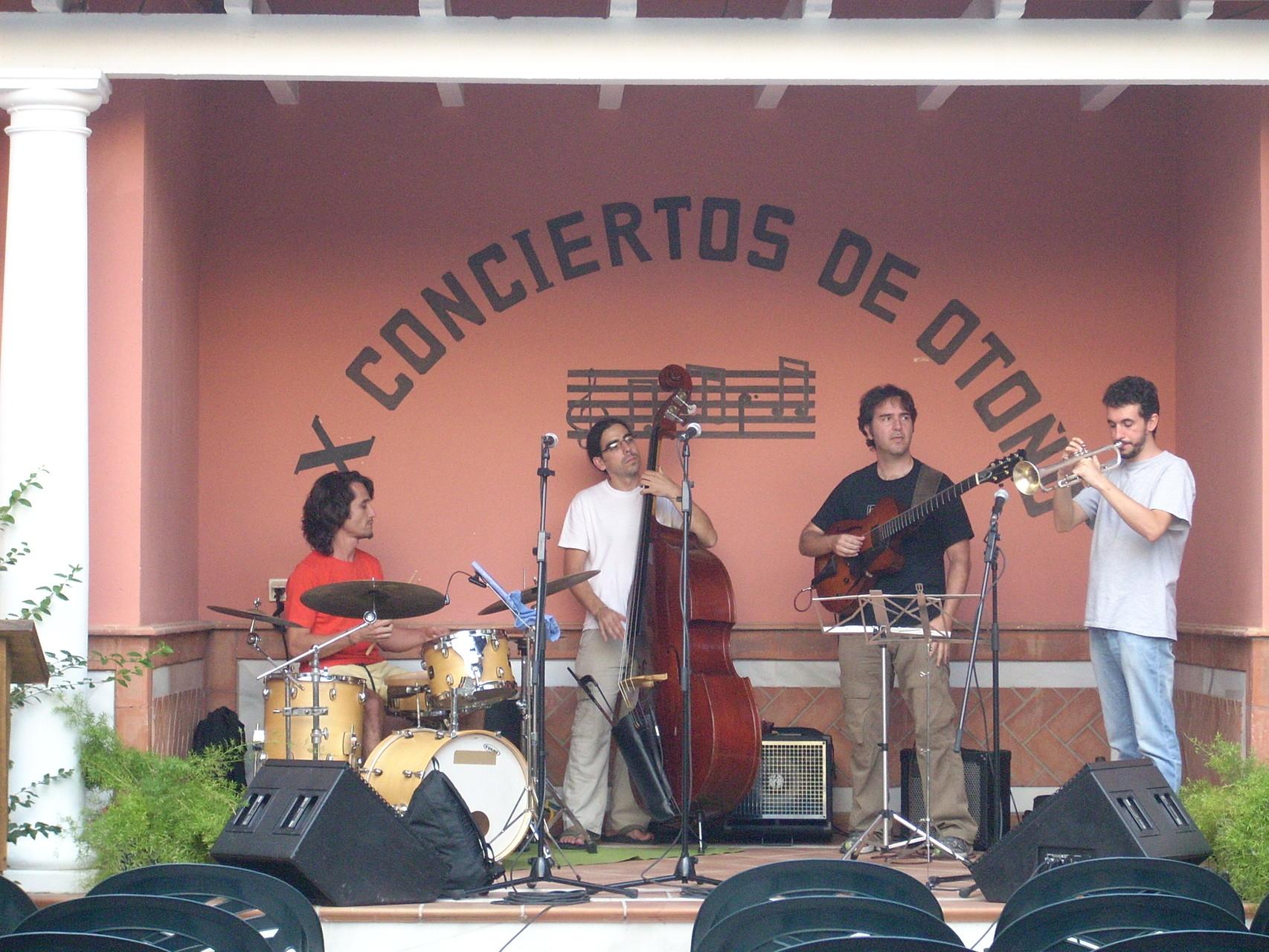 QUINTETO CIRCUITO ANDALUZ DE MUSICA. ATARFE GRANADA. VERANO 2010