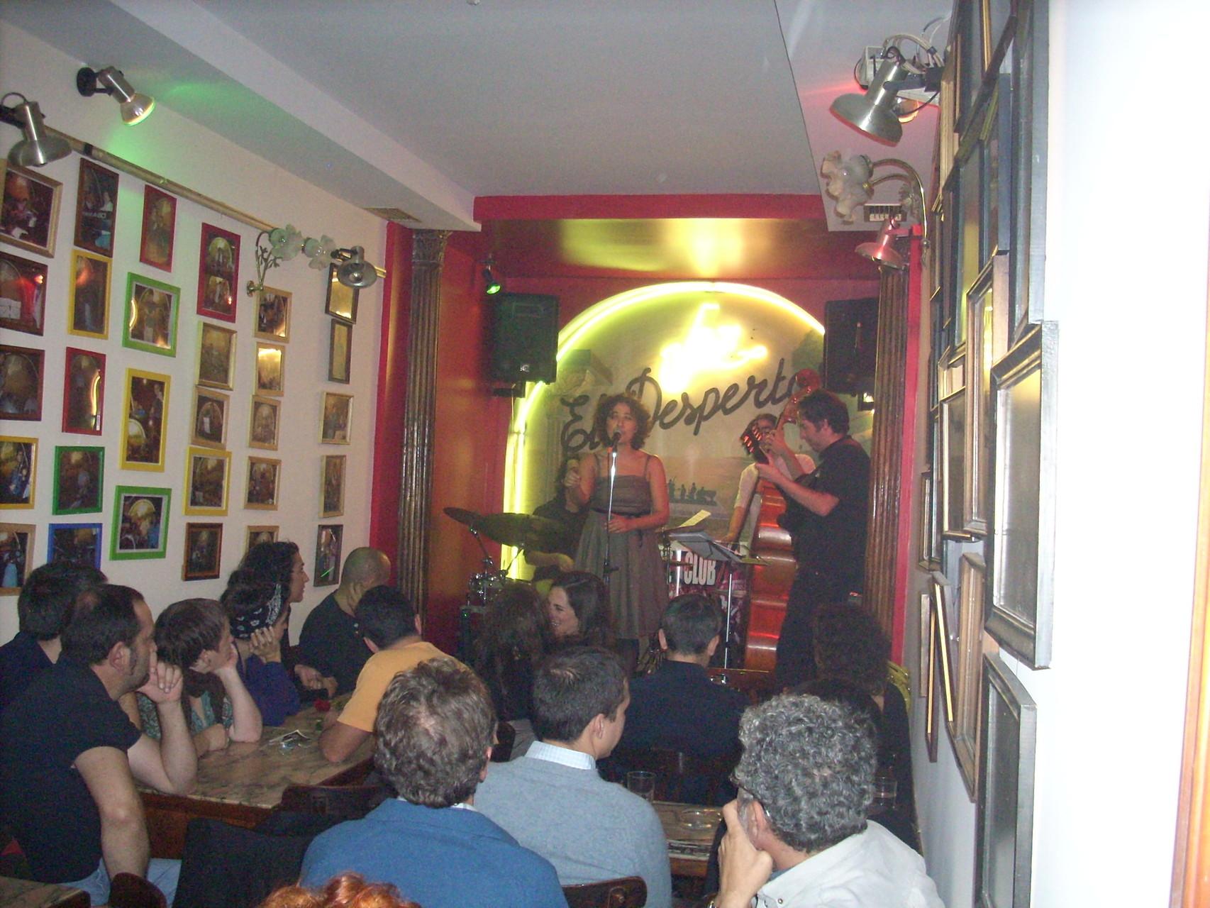 CUARTETO. FESTIVAL DE JAZZ DE MADRID.CAFÉ EL DESPERTAR. NOVIEMBRE 2009
