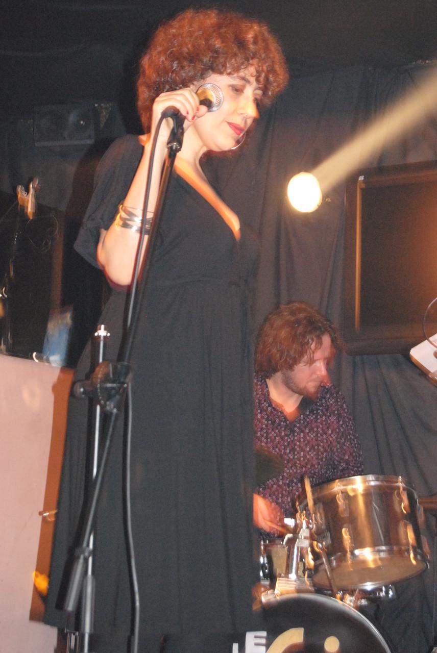 CUARTETO con DIEGO MARTINEZ (batería).CLUB LESWING, MADRID. MARZO 2010